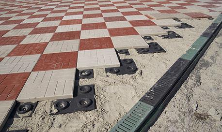 Тротуарная плитка из полимера своими руками 83